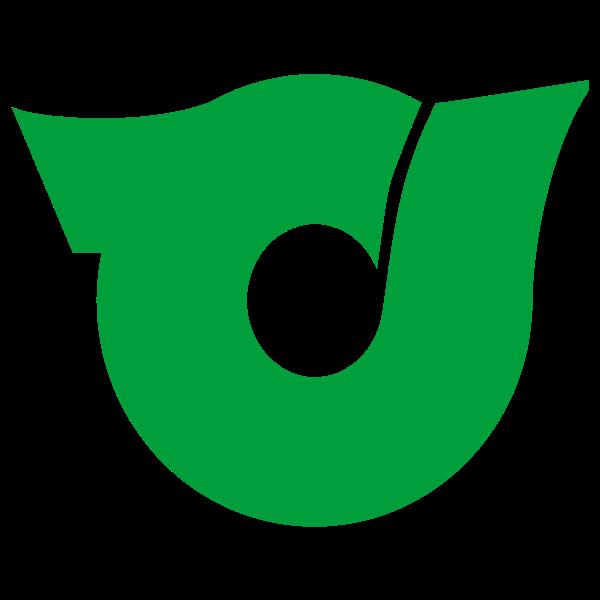 Official seal of Higashiyuri vector illustration