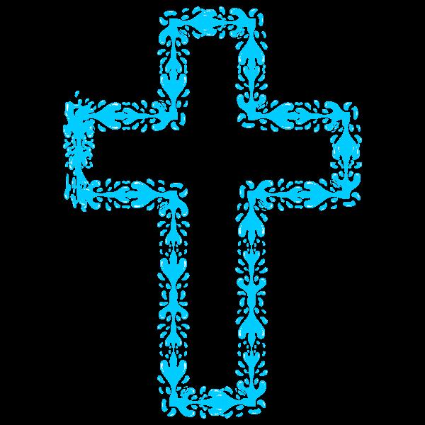 Holy water cross