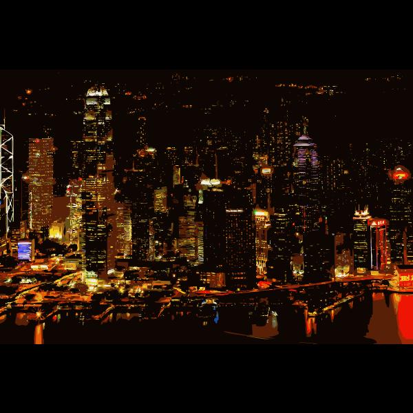 Hong Kong Victoria Harbor 2015100355