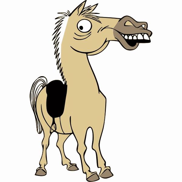 Horse caricature-1574086532