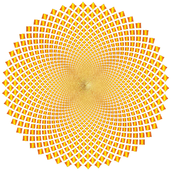 Hypnotic Checkerboard Vortex 6 No Background