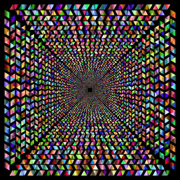 Hypnotic Triangular Vortex 5