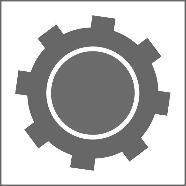 Settings symbol