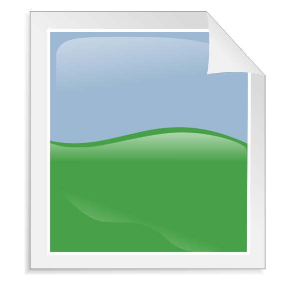 Image document vector illustration