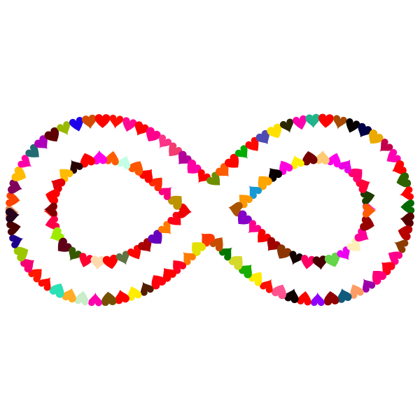 heart infinity love - Sticker by Marina Battista |Infinite Love Png