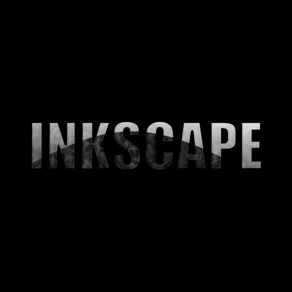 Word Inkscape black