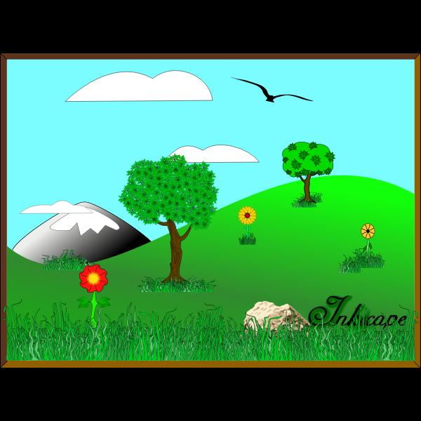 Inkscape Landscape 02