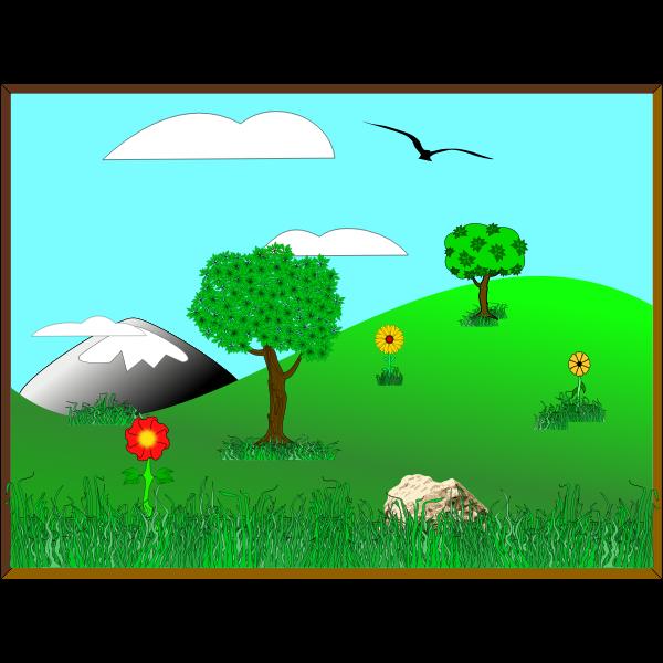 Inkscape Landscape 02a