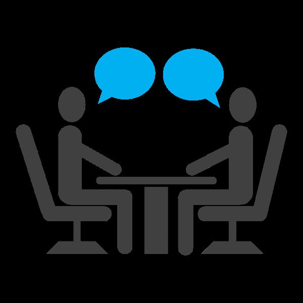 Conversation symbol | Free SVG