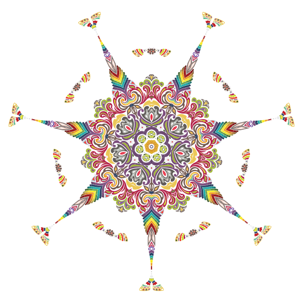 Intricate Colorful Pattern 2