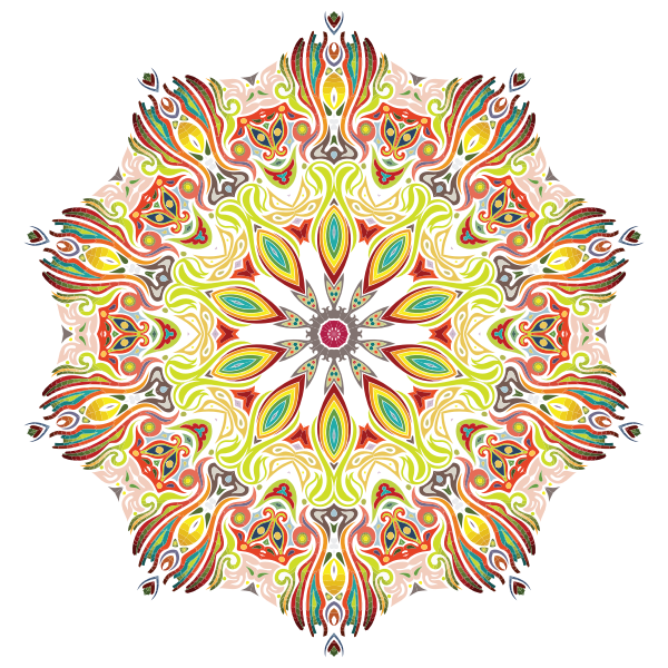 Intricate Colorful Pattern 3