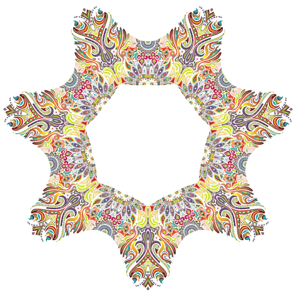 Intricate Colorful Pattern