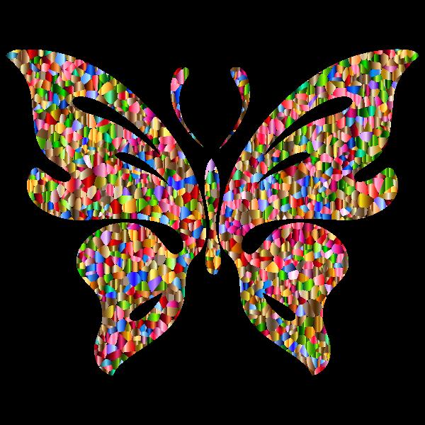 Iridescent Chromatic Butterfly