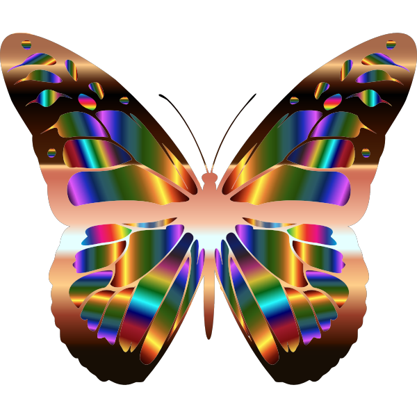 Iridescent Monarch Butterfly 20