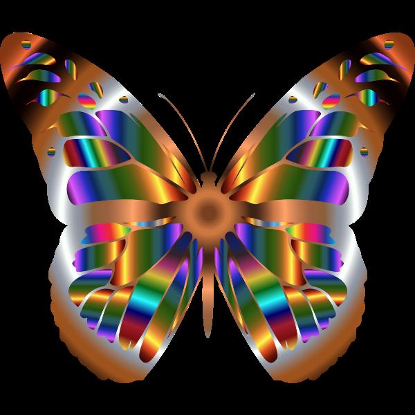 Iridescent Monarch Butterfly 6