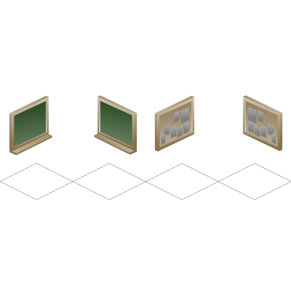 Isometric boards