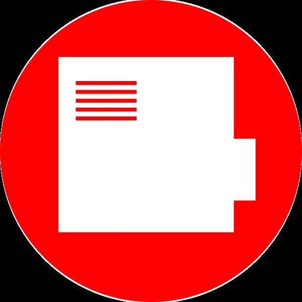 Beamer vector icon