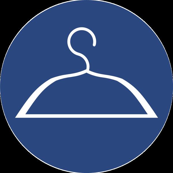 Wardrobe vector icon