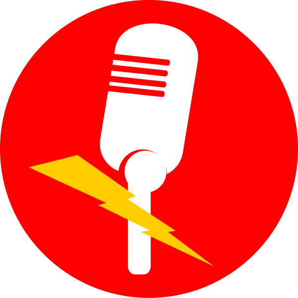 Wireless microphone vector icon