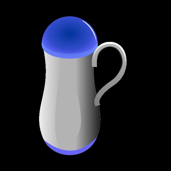 Plastic jug vector image
