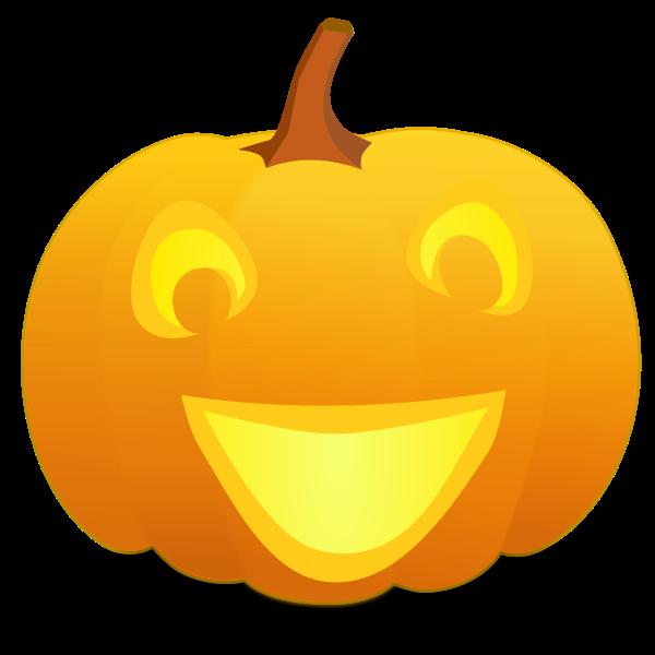 Yo Halloween pumpkin vector graphics