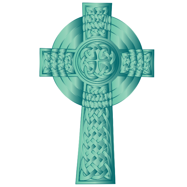 Jade Celtic Cross