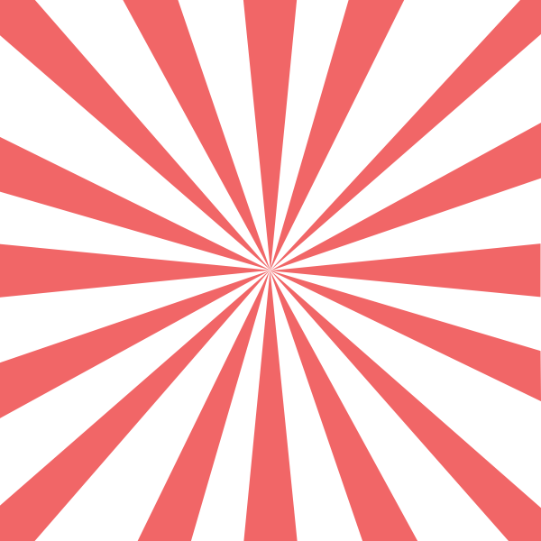 Vector drawing of red stripes panel