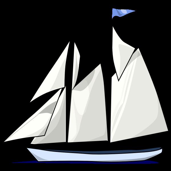 Schooner ship