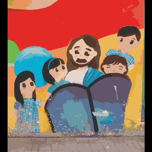 Jesus and Some Kids 2014111305