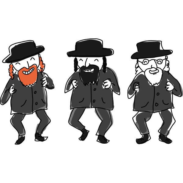 Jewish dance by Rones