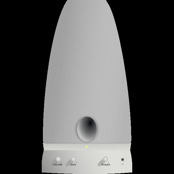 Vector image of PC loudspeaker
