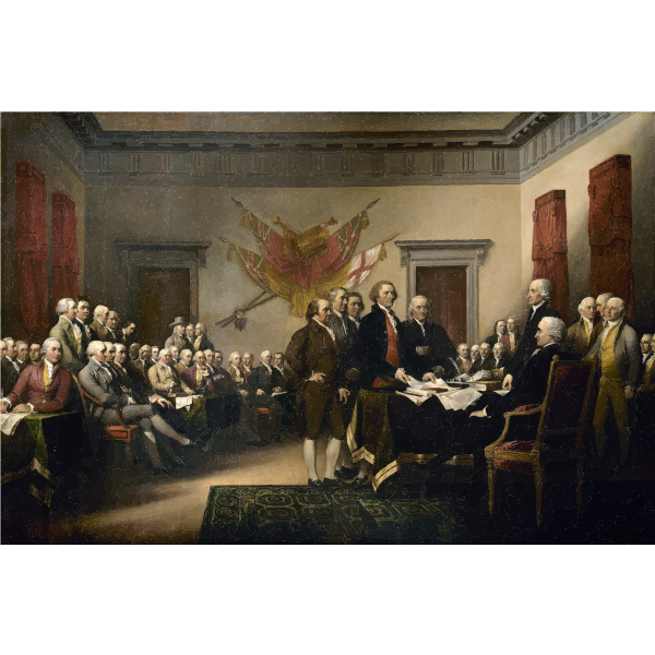 John Trumbull Declaration of Independence