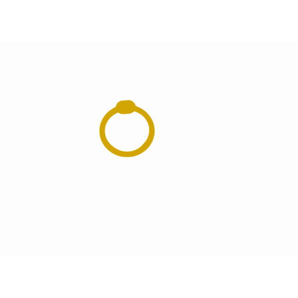 Vector graphics of gemstone ring