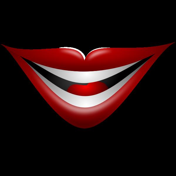 Joker Smile Vector Image Free Svg