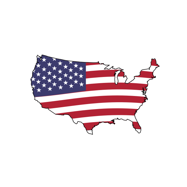 Animation of American Flag