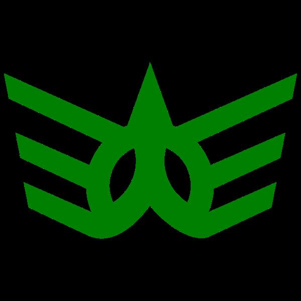 Official seal of Kawauchi vector graphics