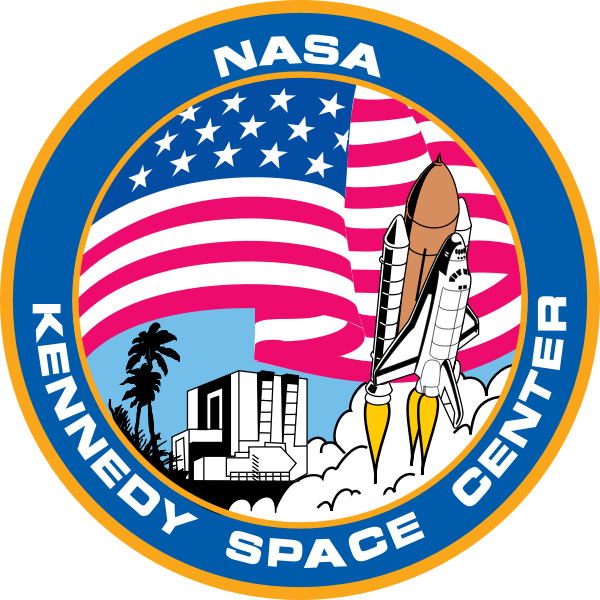 Kennedy Space Center logo vector image