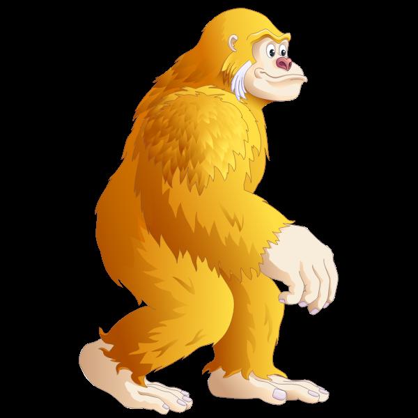 Gorilla king kong cartoon