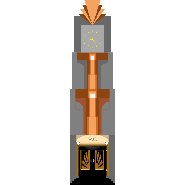 Art Deco Clock Tower