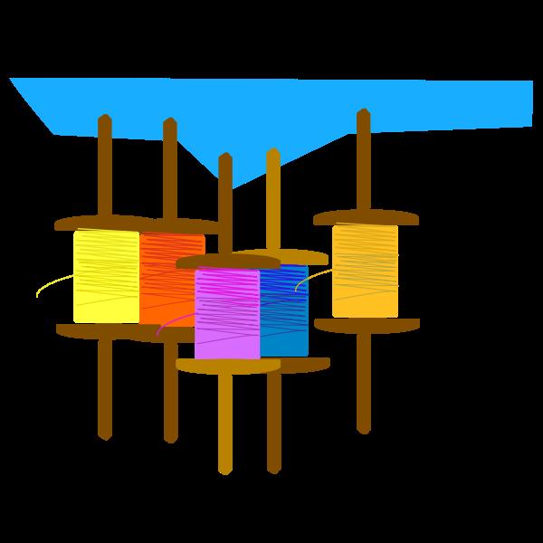 Kite flying thread