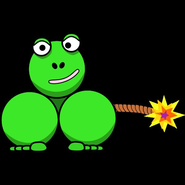 Dynamite frog