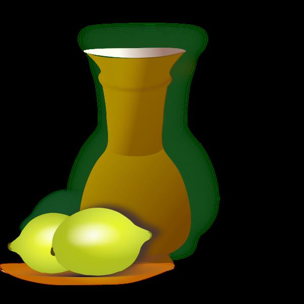 Lemons and a jug
