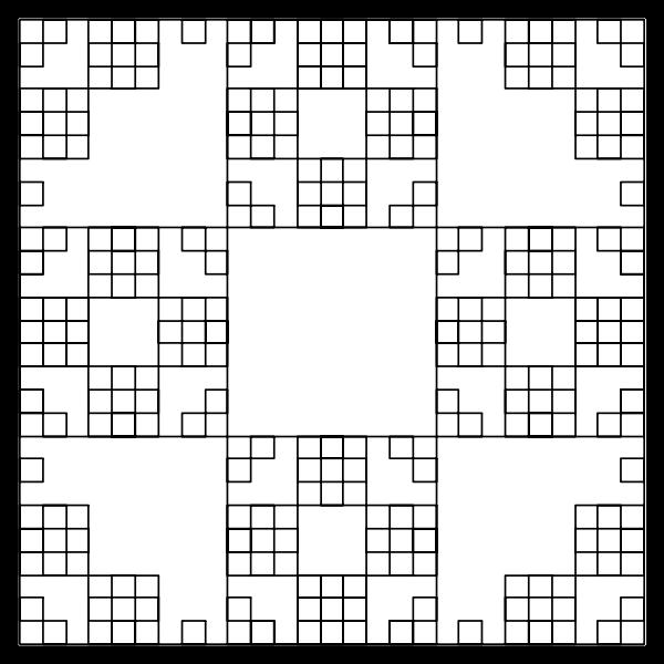 L-System Fractal Square
