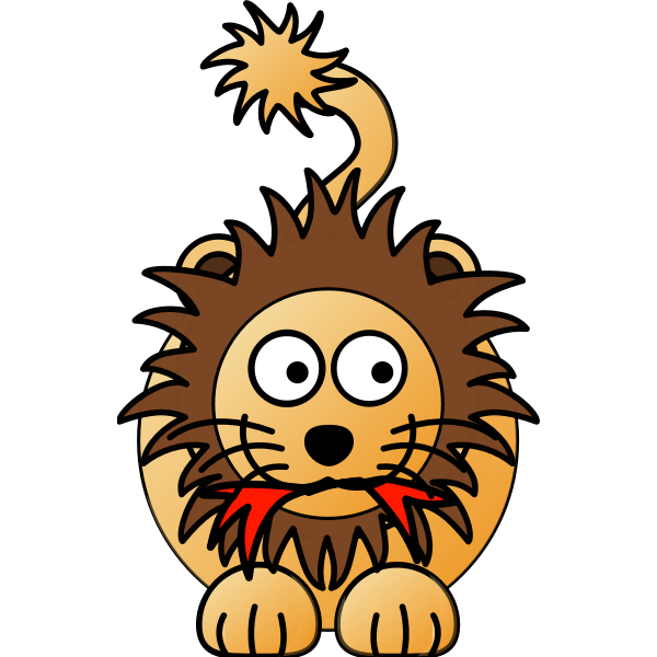 Lion male cannibal