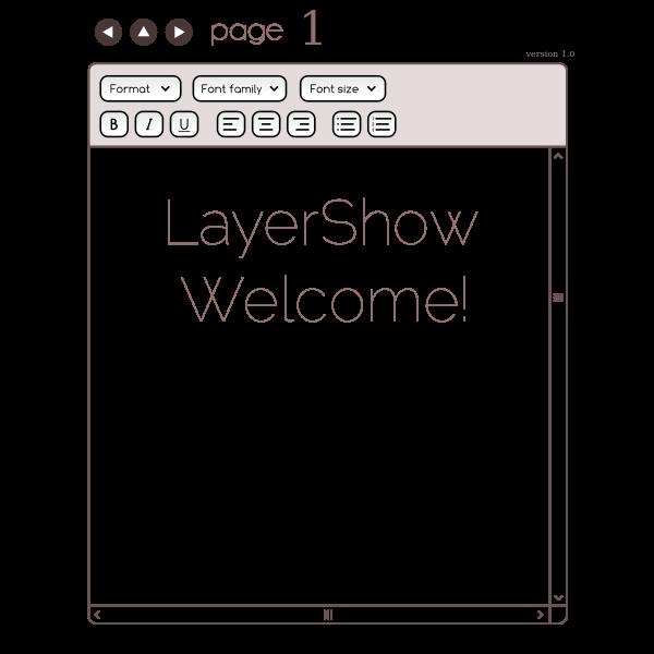 Layer Show Javascript Presentation Tool