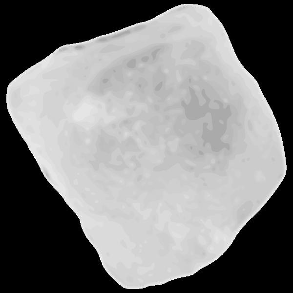Ice cube vector illustration