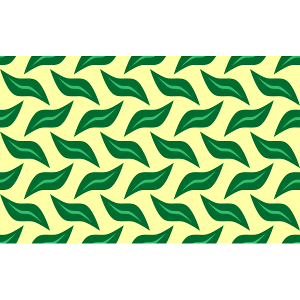 Green leafy pattern