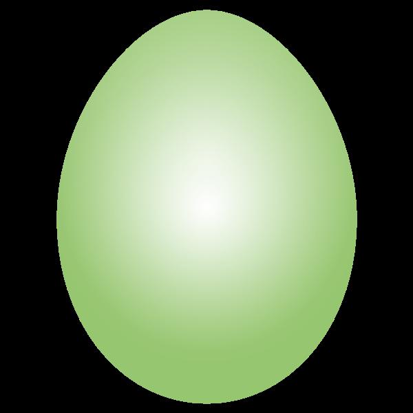 Lime Green Easter Egg