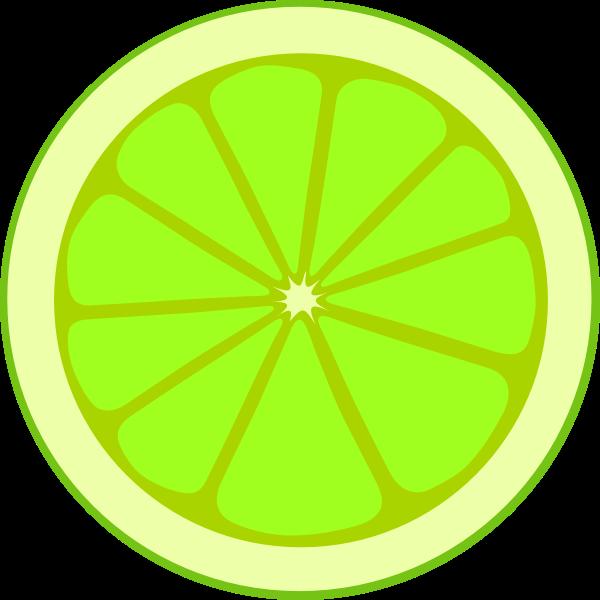 Lime slice