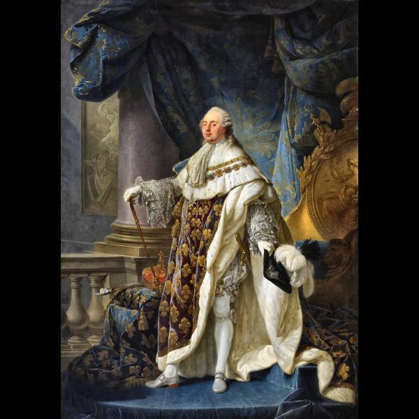 Louis XVI Portrait By Antoine Francois Callet